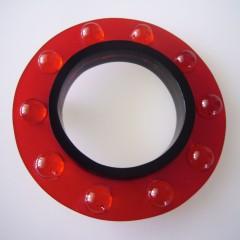 CAROSELLO  rosso – nero